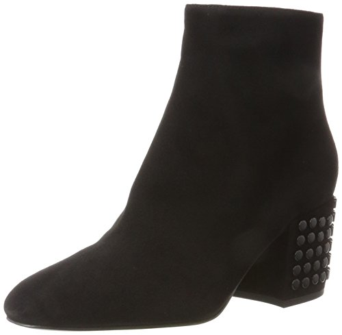 Kendall and Kylie Kkblythe, Stivali Donna Nero (Black Fh Kid Suede)