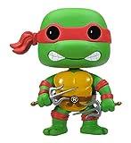POP! Vinyl 3343 Funko POP Television: Teenage Mutant Ninja Turtles - Raphael Collectible Figure, Multi-Colored, One Size