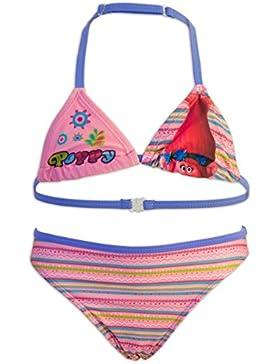 Trolls Poppy - Costume 2 pezzi Bikini Mare Piscina - Full Print - Bambina - Novità Prodotto Originale 10019WD