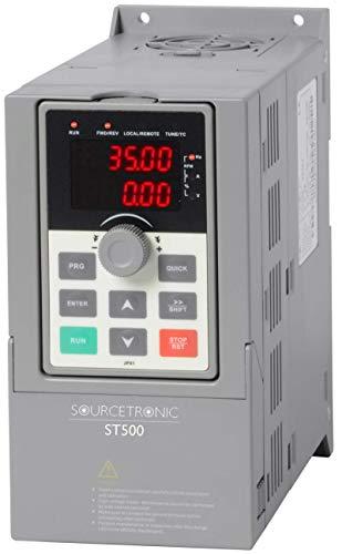 Sourcetronic Frequenzumrichter ST500 2,2kW 400V, Plug & Play Komplettgerät -