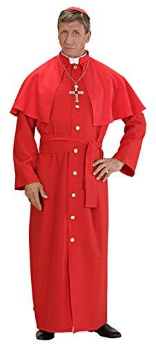 Widmann 5704M - Erwachsenenkostüm Roter Kardinal, Größ XL