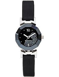 Sonata Yuva Analog Black Dial Women's Watch -NH8943SL03C
