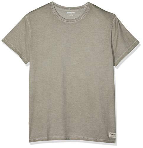 Garment Dye T-shirt (Timberland Herren SS Garment DYE Tee T-Shirt, Grau (Elephant Skin 089), Large (Herstellergröße:L))