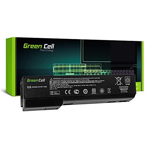 Green Cell® CC06 CC06XL CC09 Laptop Akku für HP EliteBook 8460p 8460w 8470p 8470w 8560p 8560w 8570p (6 Zellen 4400mAh 10.8V Schwarz) Elitebook Laptop