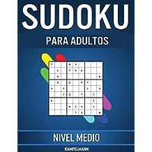 Sudoku Para Adultos Nivel Medio: 365 Sudoku de Media Dificultad para Adultos con Soluciones y Instrucciones