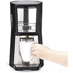 Beem Elements of Coffee & Tea Cafetière robustica 4000sr, 1030 W (2018) Filtre Permanent à Café isolée, réservoir, à 12 tasses, Filtre Machine à café avec fonction Distributeur 6 Minuteur