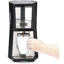 BEEM Filterkaffeemaschine 1410SR - Elements of Coffee & Tea, 1030 W, Permanentfilter, Dispenser-Funktion, Iso-Tank, Edelstahl