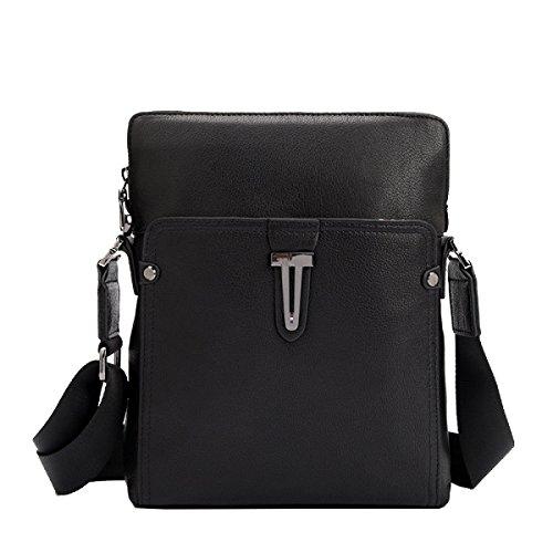 Yy.f Leder Herren Tasche Lässig Mode Business Aktentasche Schlank Klassisch Praktische Reisetasche Computer Tasche (schwarz Und Braun) Brown