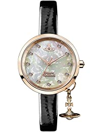 Vivienne Westwood Womens Analogue Classic Quartz Watch with Leather Strap VV139WHBK