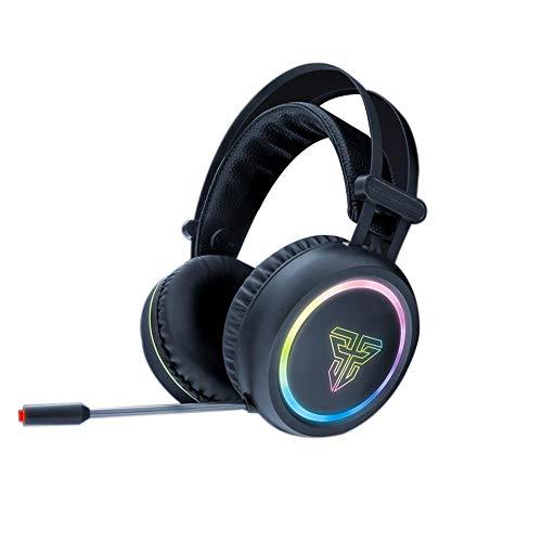 Jinclonder HG 15 Gaming Headset für PS4, PC, Xbox One, Kopfhörer mit Geräuschunterdrückung, Bass Surround-Sound, Weiche Ohrpolster für Laptop Mac