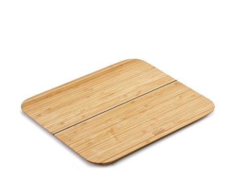 Joseph joseph chop2pot tagliere pieghevole, bamboo, marrone, 33x27x1.35 cm