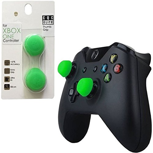 Veena Green : Silicone Analog Grips Thumb Stick Caps Cover For Xbox One Controller Skull & Co. CQC Thumbstick Cover For Xbox 360 Controller