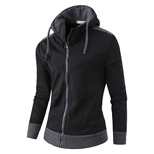 Luckycat Herren Herbst Winter Warm Casual Zipper Langarm Kapuzenmantel Top Bluse Jacke Mode 2018
