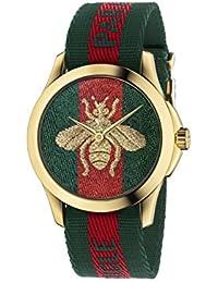 Gucci Unisex-Armbanduhr Quarz Nylon YA126487