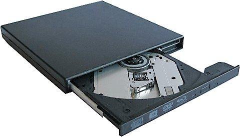Externes Blu-Ray 3D Brenner / Blu Ray DVD CD - Brenner - Laufwerk für Notebooks / Ultrabooks / PCs mit USB Anschluss Farbe:Schwarz