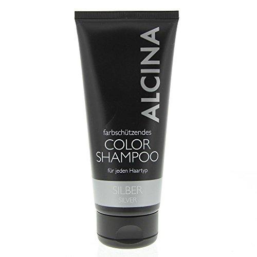 Color Shampoo Silber, 200 ml, silber