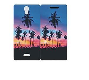 Techno Gadgets Flip Cover for Micromax Canvas unite 4 Q427