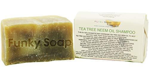 & Neemöl Festes Shampoo, 100% Natürlich Handgemacht, 1 Stück 65g ()