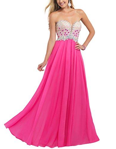 Bridal_Mall - Robe de mariage - Trapèze - Femme Rose