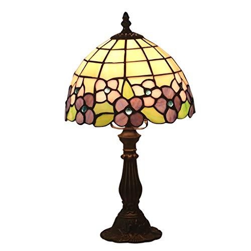 opäischen Retro Nachttischlampe Bar Cafe Western Restaurant Dekoration Tischlampe Hochzeitszimmer Hochzeit Tischlampe 8 Zoll (Color : Dimming switch) ()