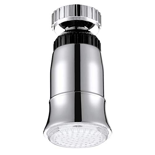 Tan LED Licht Wasserhahn ABS Wasserstrom Temperatursensor RGB 3 Farbe Leuchten Duschköpfe Badezimmer Armatur Zubehör