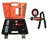 Kit Pompa a vuoto/pressione impianti frenanti c/manometro