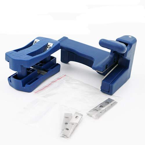 Preisvergleich Produktbild Manuelle Edge Banding Machine Doppel-Edge Trimmer Maschine Set Wood Head und Tail Trimming Carpenter Hardware