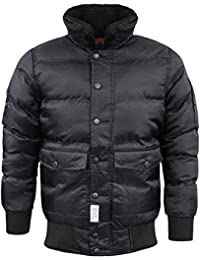 Mens dStruct Padded Puffer Style Jacket Winter Coat Sizes NEW Sizes S-XL AW1718