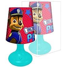 Paw Patrol–pequeña lámpara de noche para niños, de La patrulla Canina