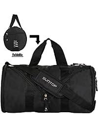 Suntop Defender 23 Litres Foldable Gym Bag Black Colour