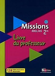 Missions 2de • Livre du professeur