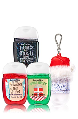 bath-body-works-stocking-stuffers-christmas-3-pack-pocketbac-sanitizers-santa-hat-holder