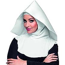 Cofia de monja blanca adulto