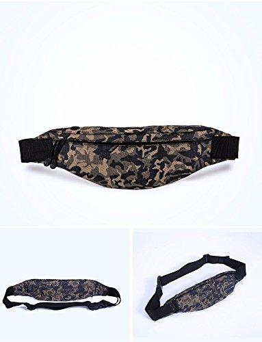 Outdoor-Tasche, Männer Und Frauen Läuft Handy-Tasche, Multifunktionale Wasserdichte Tasche Hellblau