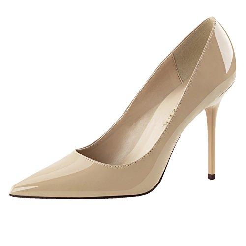 Heels-Perfect - alto Donna Beige (Beige)