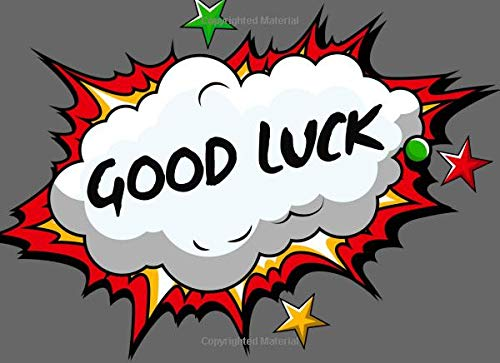 Good Luck: Farewell Signature Guest Registration Book - Graduation & Bon Voyage Party - Sorry Your Leaving Memory & Message Keepsake