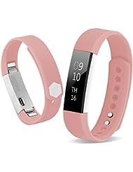 Bepack Fitbit Alta HR Correa de Reemplazo,TPU Soft Silicona Adjustable Sport Strap Pulsera para Fitbit Alta and Alta Heart Rate