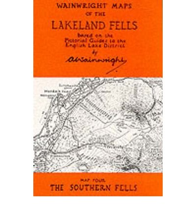 [(Wainwright Maps of the Lakeland Fells: Southern Fells Map 4)] [ By (author) Alfred Wainwright ] [March, 1996]