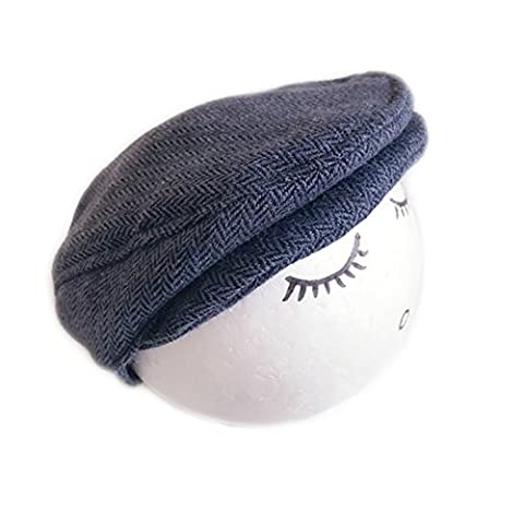 Newborn Hat Photography Boys Girls Beret Hats Unisex Flat Cap