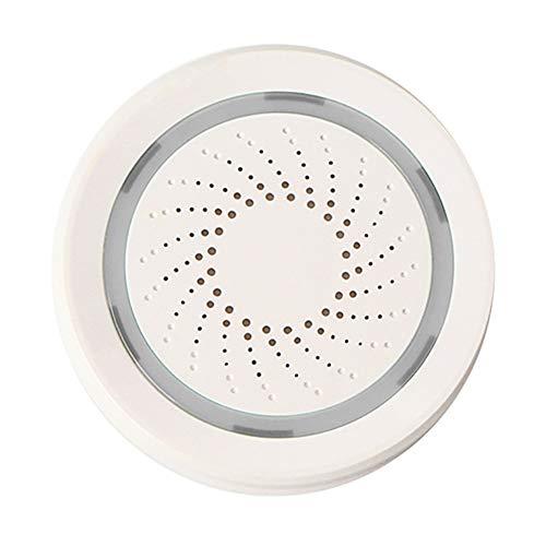 L&Z WiFi Siren Alarm Sensor Smart USB Mehrere Sound Auswahl 2,4 GHz Wireless APP Kontrolle Android...
