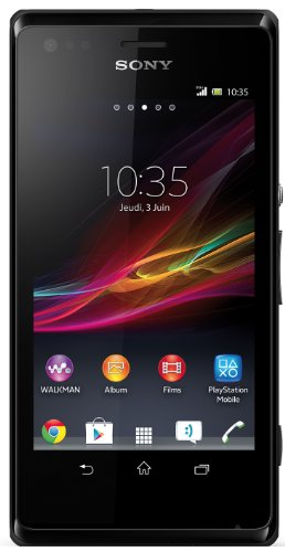 Sony Xperia M C1905 Smartphone Bluetooth/USB Android 4.1 Jelly Bean 4 Go Noir
