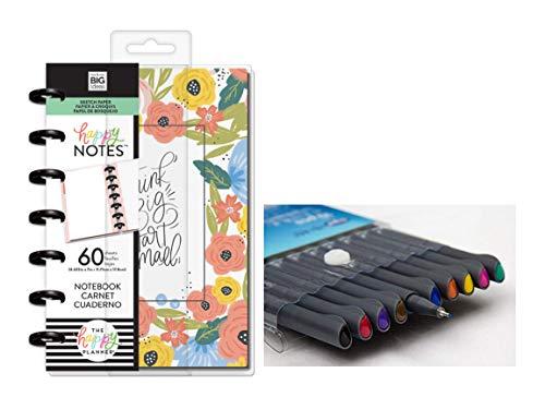 """Me & My Big Ideas Mini-Notizbuch mit englischsprachiger Aufschrift""""Think Big"""", inklusive Kemah Craft, 10 Stück"""