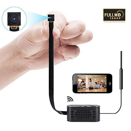 Mini kamera Wifi Kamera Tragbare Wlan Netzwerk Klein IP Kamera Überwachungskamera mit Bewegungsmelder