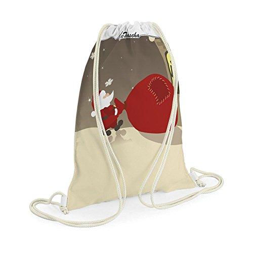 Voller Sack - LaTascha Gymbag Sporttasche Jutebeutel Hipster Sack Umhängetasche Stringbag (Gedichte Halloween Spaß)