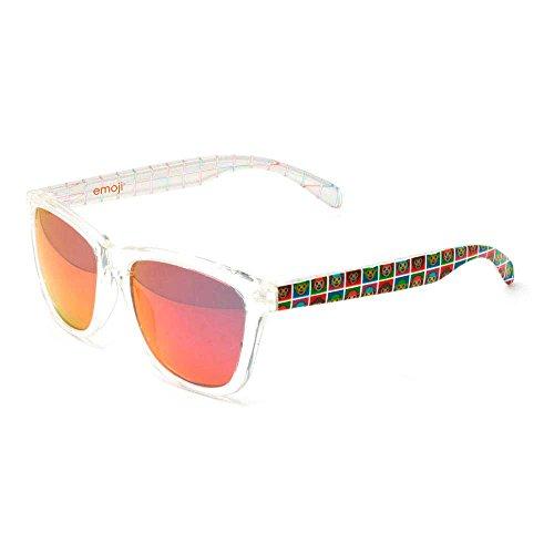 emoji® Sonnenbrille | emoji® Brillen (Bright/Monkey Warhol/Red)