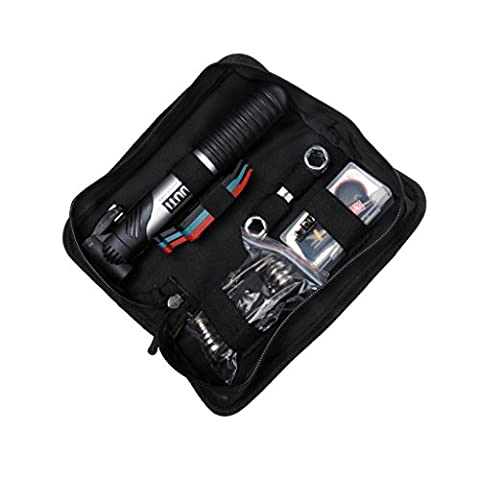 Gazechimp Fahrrad Reparatur Werkzeug Set mit Reifen Flickzeug, einschließlich Handpumpe, Reifenheber, Schraubendreher usw. Tools