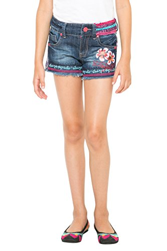 Desigual Fernan-Shorts Bambina    Blue (Denim Raw) 5 Anni