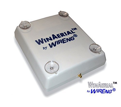 WirEng WinAerial Antenna for NimbeLink BarnWatch II No-Installation On-Window