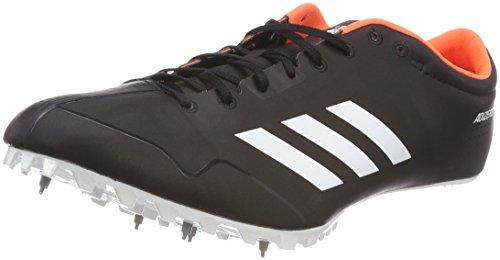 adidas Adizero Prime Sp, Scarpe da Atletica Leggera Unisex-Adulto, Nero (Negbas/Ftwbla/Naranj 000), 42 2/3 EU