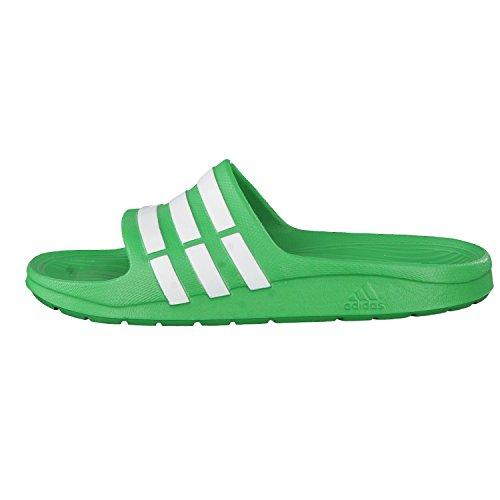 adidas Duramo Slide K, Tongs Mixte Bébé Multicolore - Verde / Blanco (Verseñ / Ftwbla / Ftwbla)